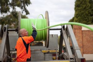 Contractor winding up NBN cabling